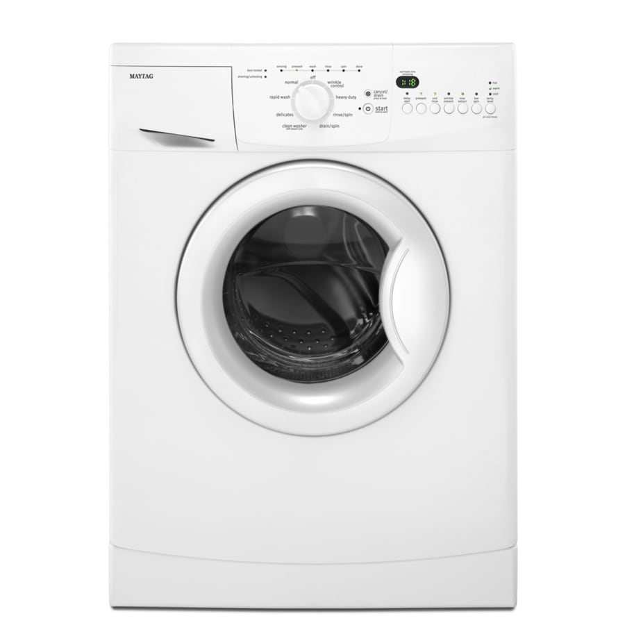 Maytag 2-cu ft Stackable Front-Load Washer (White)