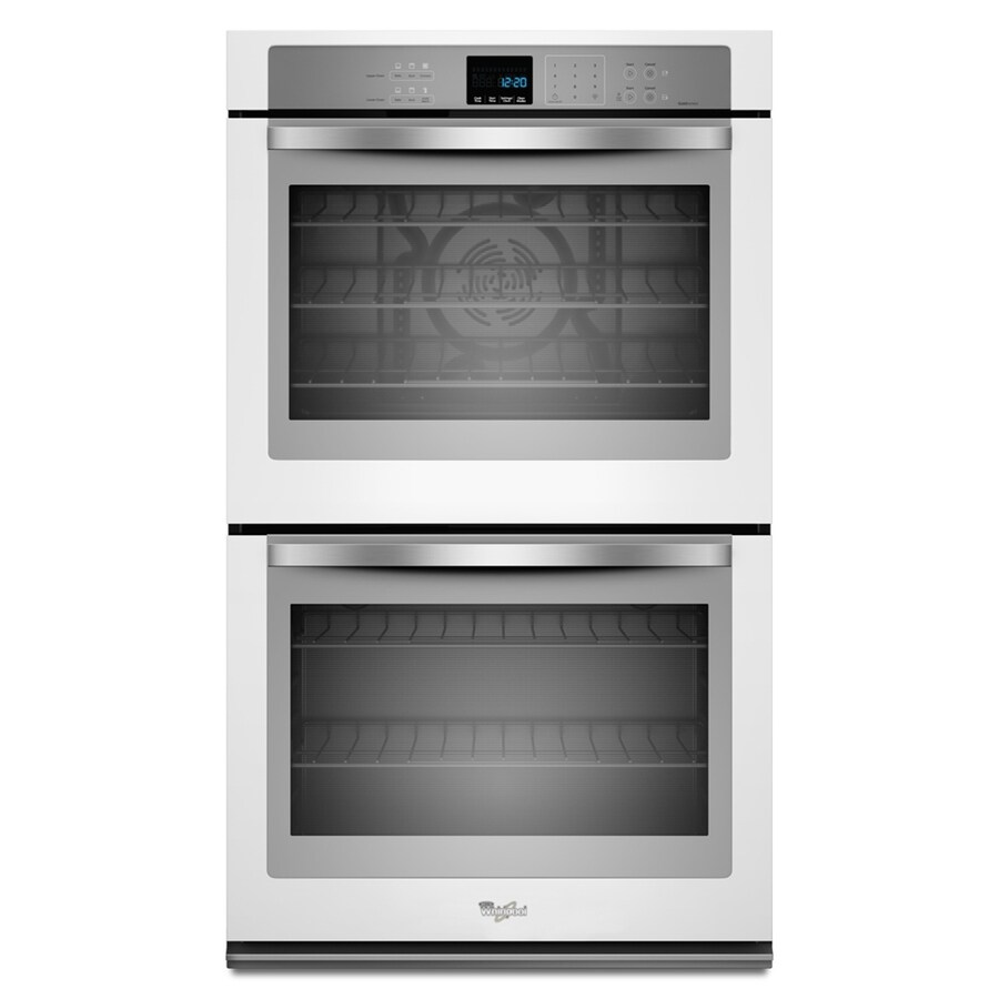 Whirlpool white ice electric range reviews - Whirlpool Self Cleaning Convection Double Electric Wall Oven White Ice Common