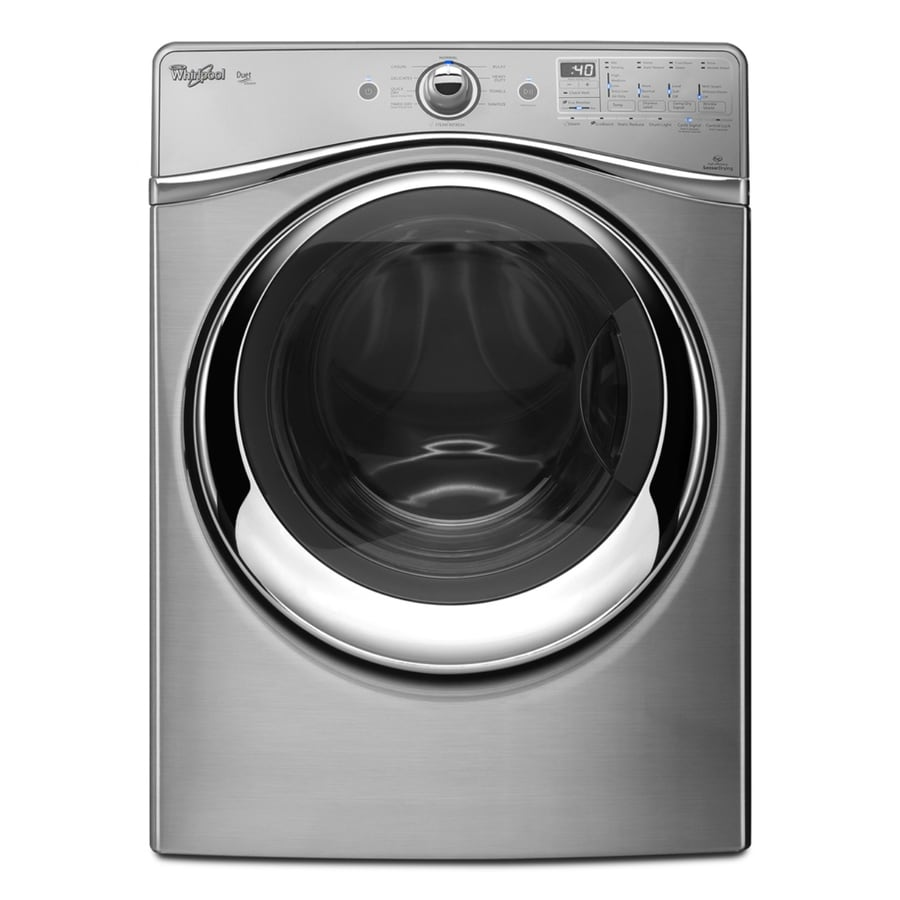 Whirlpool Duet 7.4-cu ft Gas Dryer with Steam Cycles (Diamond Steel)
