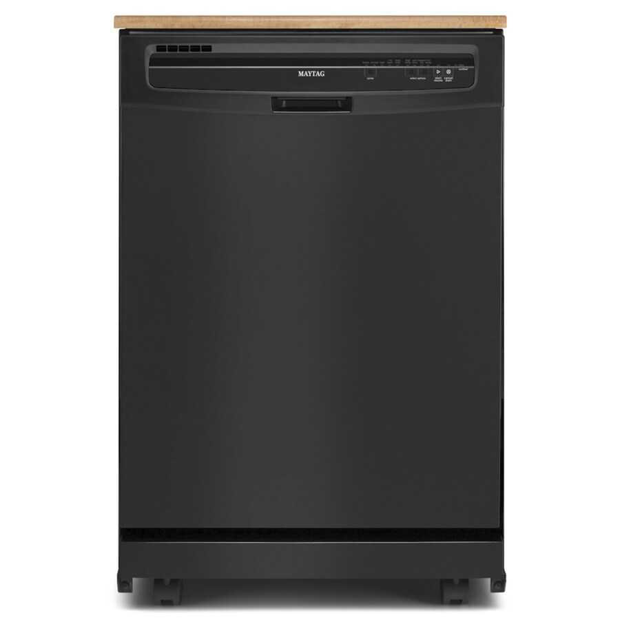 Maytag 24-in Portable Dishwasher (Black) ENERGY STAR