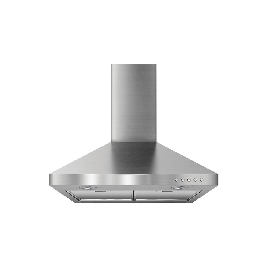 Whirlpool Ducted Wall-Mounted Range Hood (Stainless Steel) (Common: 24-in; Actual: 24-in)