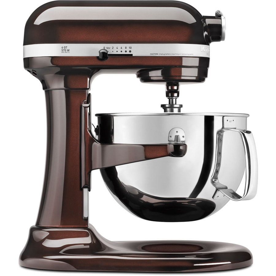 Shop KitchenAid Professional 600 6-Quart 10-Speed Espresso ...