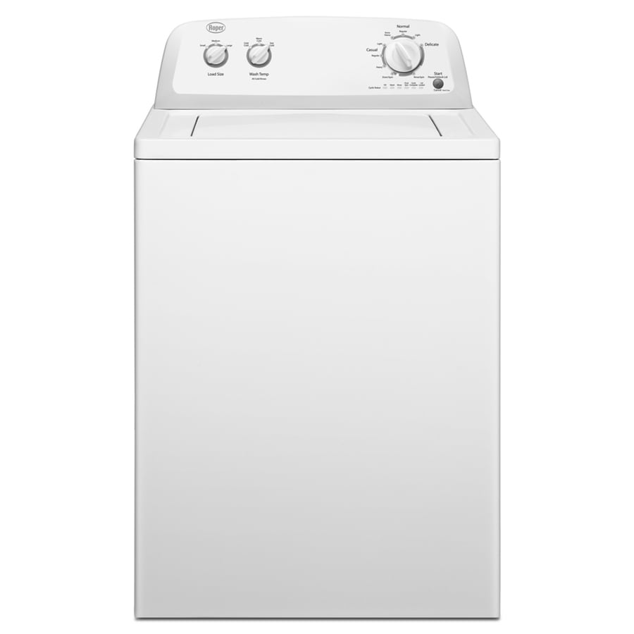 Roper 3.4-cu ft Top-Load Washer (White)