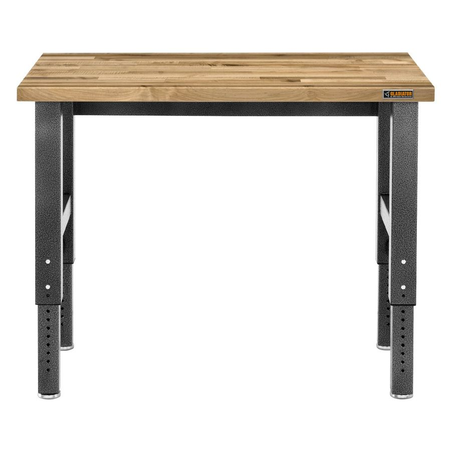Gladiator 48-in W x 42-in H Adjustable Wood Work Bench