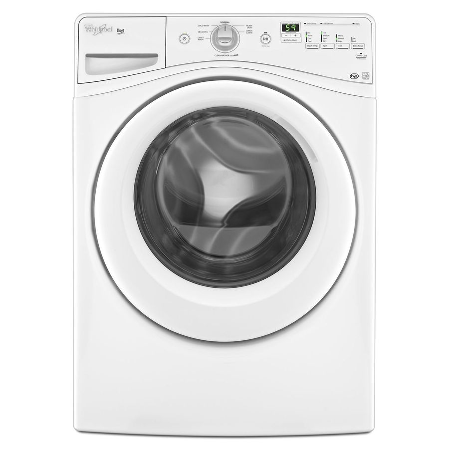Whirlpool Duet 4.1-cu ft High-Efficiency Stackable Front-Load Washer (White)
