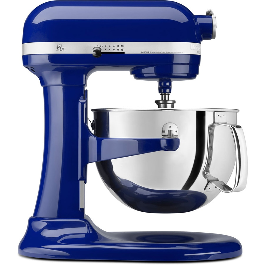 kitchenaid professional 600 6 quart 10 speed cobalt blue countertop stand mixer at. Black Bedroom Furniture Sets. Home Design Ideas