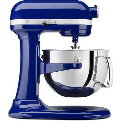 Professional 600 6-Quart 10-Speed Cobalt Blue Countertop Stand Mixer