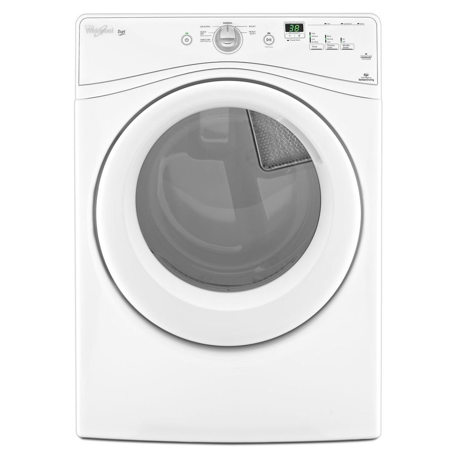 Shop Whirlpool Duet 7.4-cu Ft Stackable Gas Dryer (White