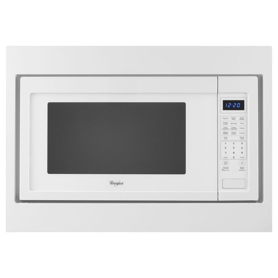 Whirlpool 2.2-cu ft 1200-Watt Countertop Microwave (White)