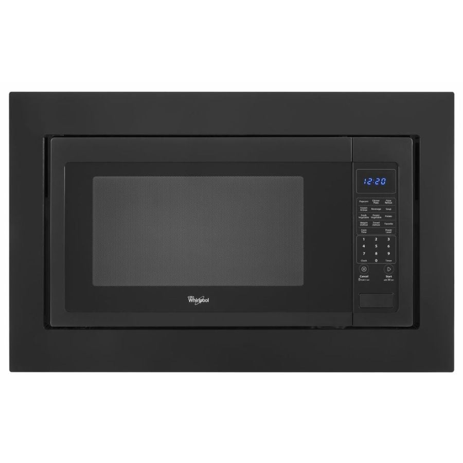 Whirlpool Countertop Microwave Trim Kit Black At Lowes Com
