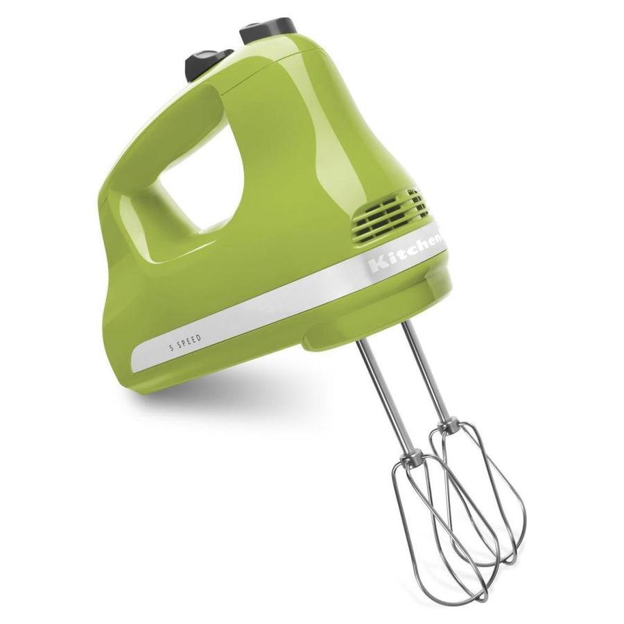 KitchenAid 78-in Cord 5-Speed Green Apple Hand Mixer