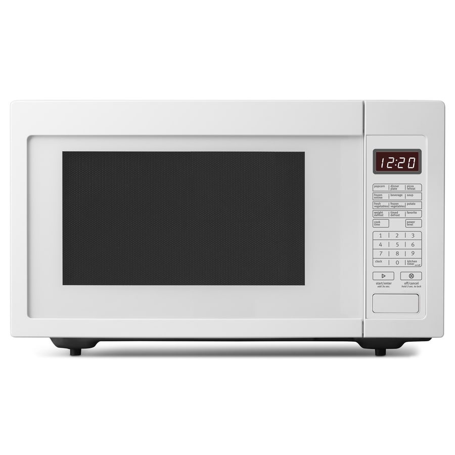 Whirlpool 1.6-cu ft 1,200-Watt Countertop Microwave (White)