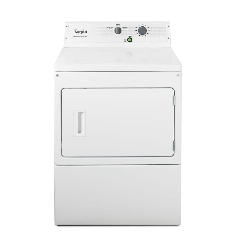 Whirlpool 7.4-cu ft Electric Commercial Dryer (White)