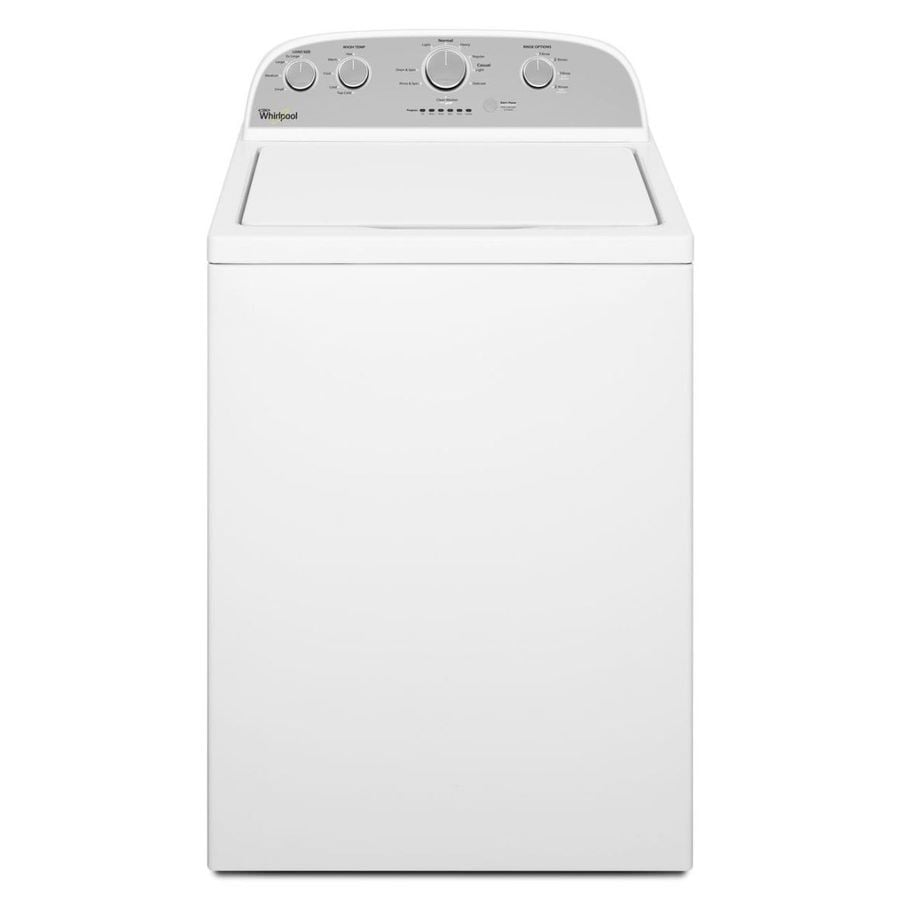 Whirlpool 3.6-cu ft Top-Load Washer (White-On-White)