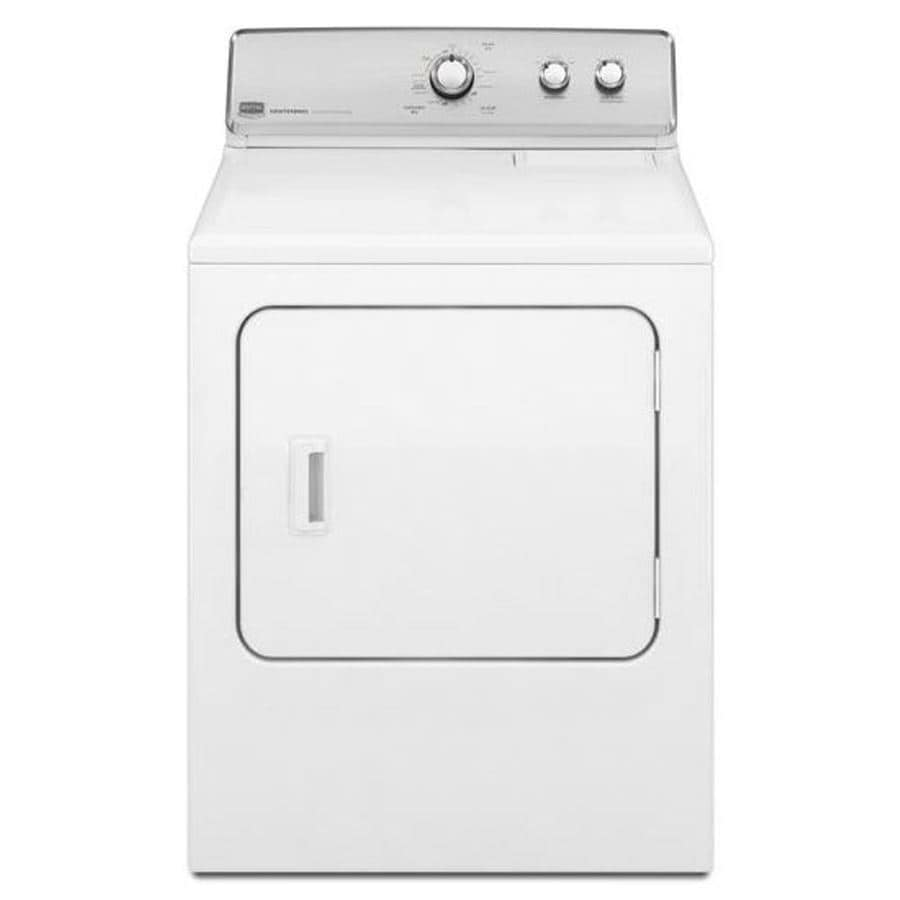 maytag centennial dryer shop maytag centennial 7 cu ft electric dryer white at 12681