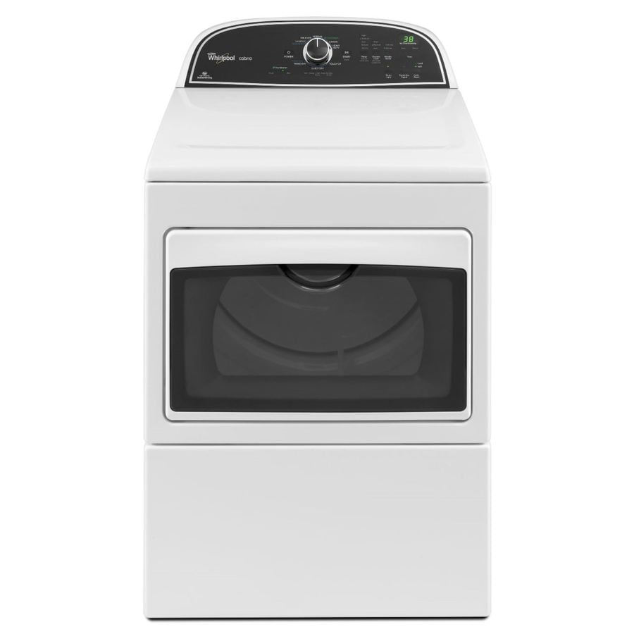 Whirlpool Cabrio 7.4-cu Ft Electric Dryer (White) At Lowes.com