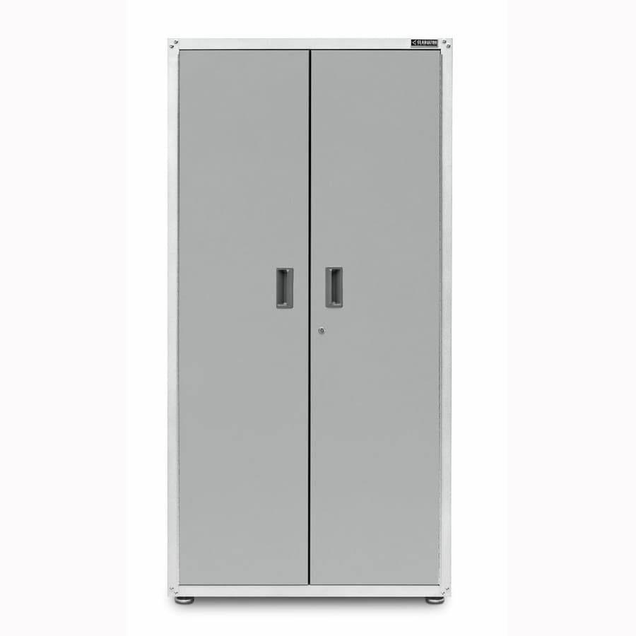 Gladiator 36-in W x 72-in H x 24-in D Steel Freestanding or Wall-Mount Garage Cabinet