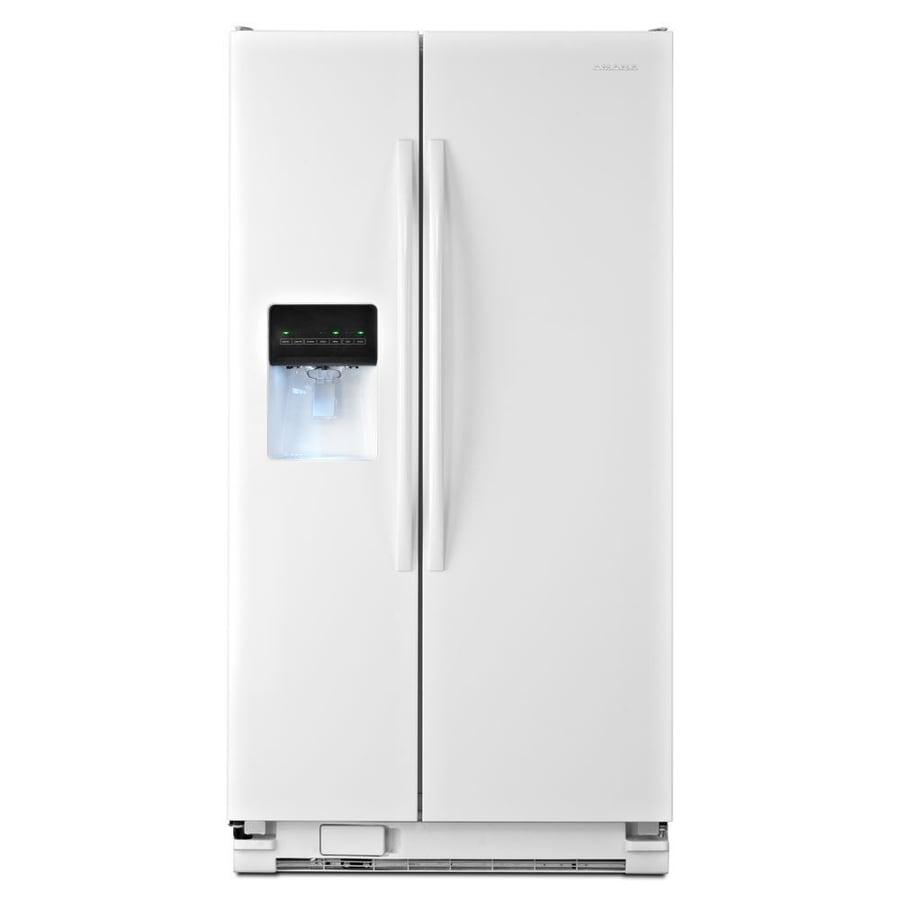 Amana White Paint Refrigerator