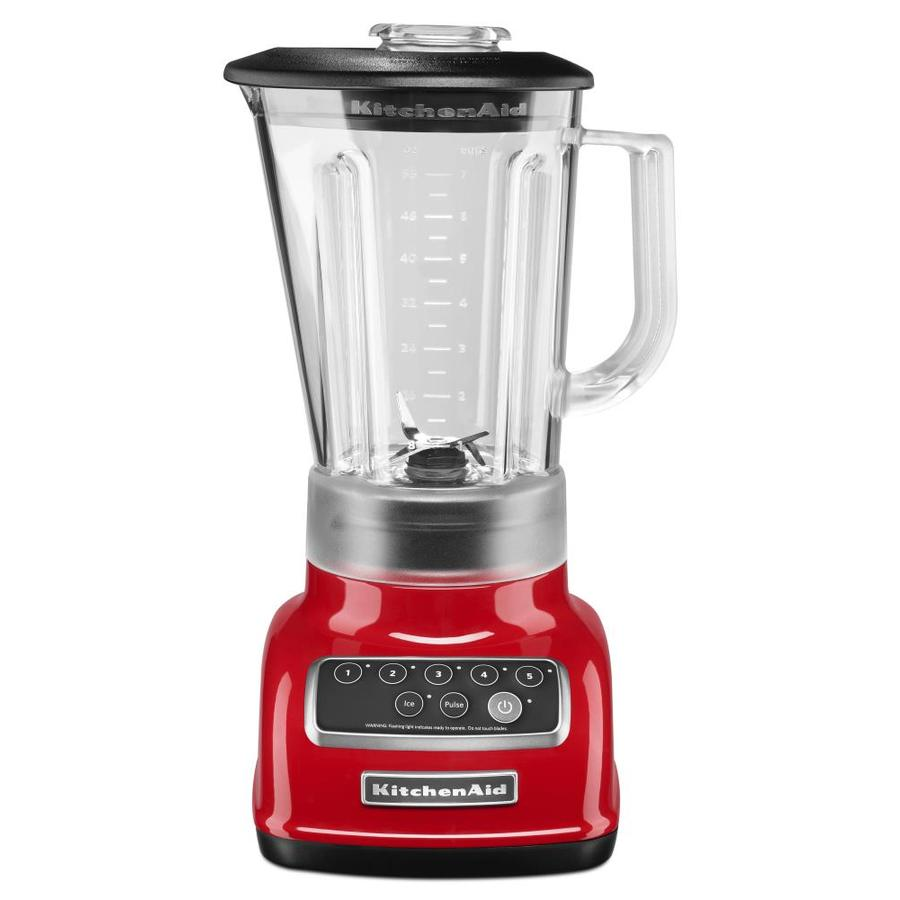 KitchenAid Classic 56-oz Empire Red 5-Speed 600-Watt Pulse Control Blender