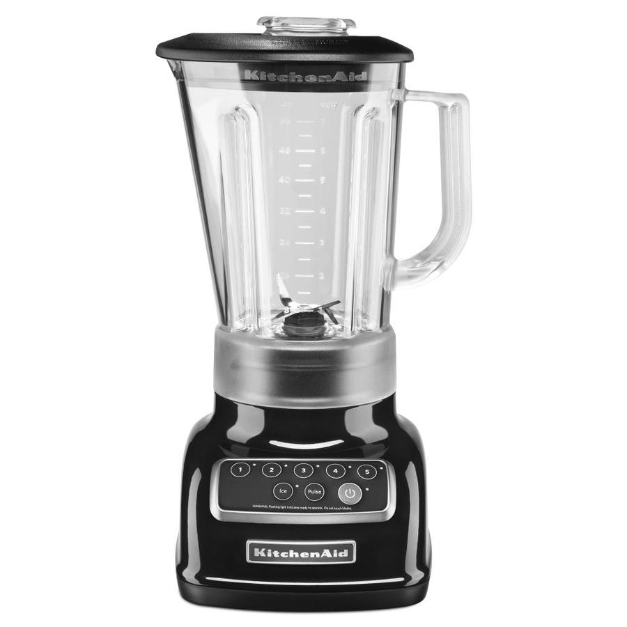KitchenAid Classic 56-oz Onyx Black 5-Speed 600-Watt Pulse Control Blender