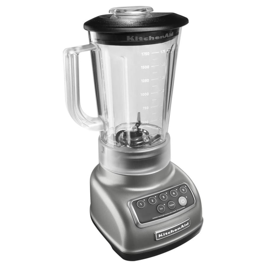 KitchenAid Classic 56-oz Silver 5-Speed 600-Watt Pulse Control Blender