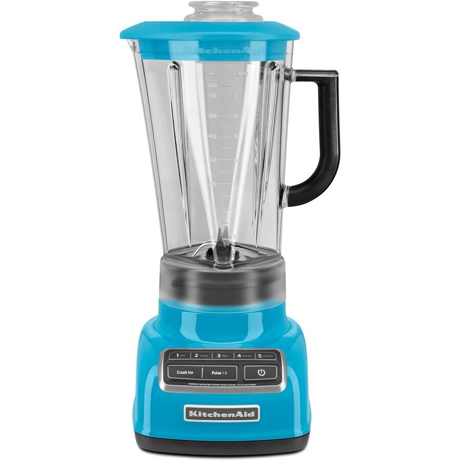 KitchenAid Diamond 60-oz Crystal Blue 5-Speed 630-Watt Pulse Control Blender