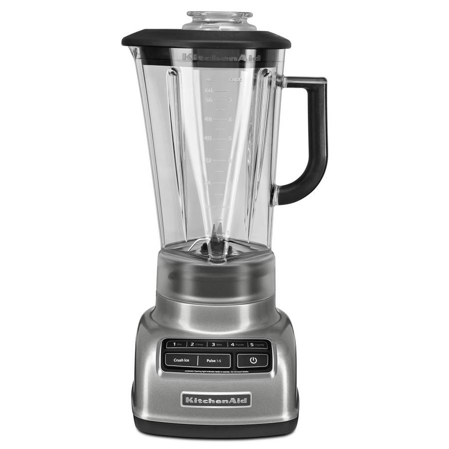 KitchenAid Diamond 60-oz Contour Silver 5-Speed 630-Watt Pulse Control Blender