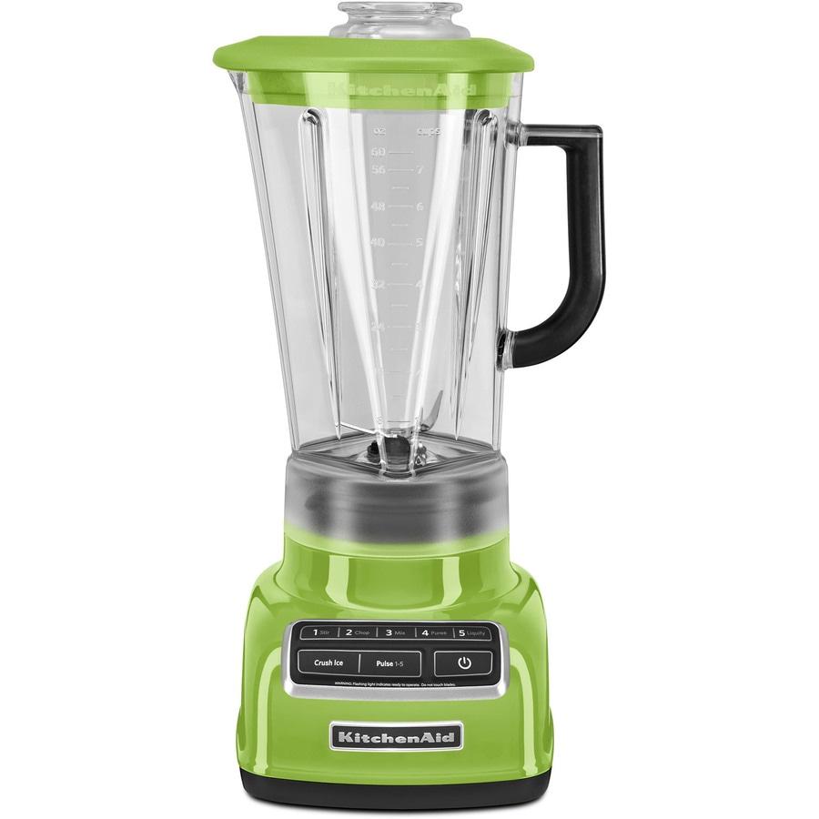 KitchenAid Diamond 60-oz Green Apple 5-Speed 630-Watt Pulse Control Blender