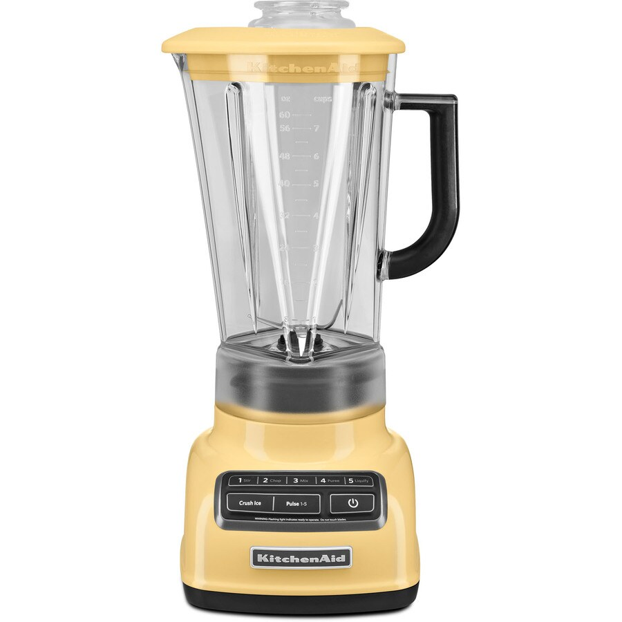 KitchenAid Diamond 60-oz Majestic Yellow 5-Speed 630-Watt Pulse Control Blender