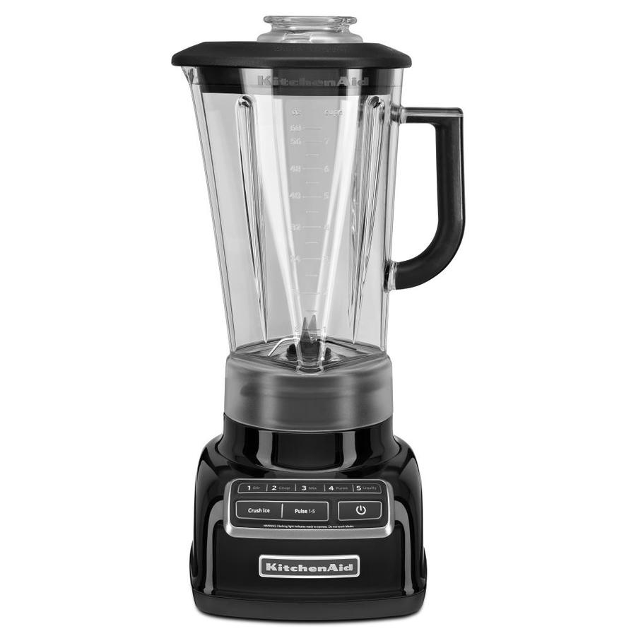 KitchenAid Diamond 60-oz Onyx Black 5-Speed 630-Watt Pulse Control Blender