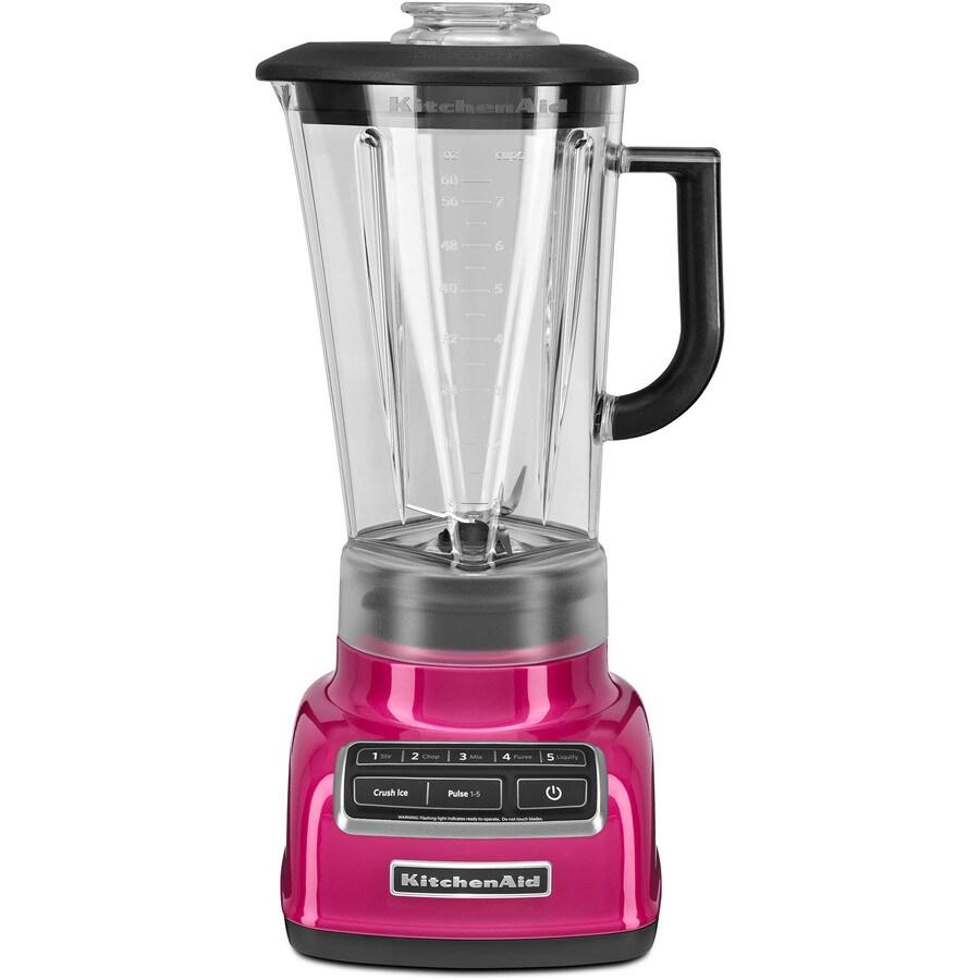 KitchenAid Diamond 60-oz Raspberry Ice 5-Speed 630-Watt Pulse Control Blender