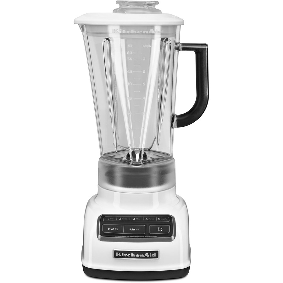 KitchenAid Diamond 60-oz White 5-Speed 630-Watt Pulse Control Blender