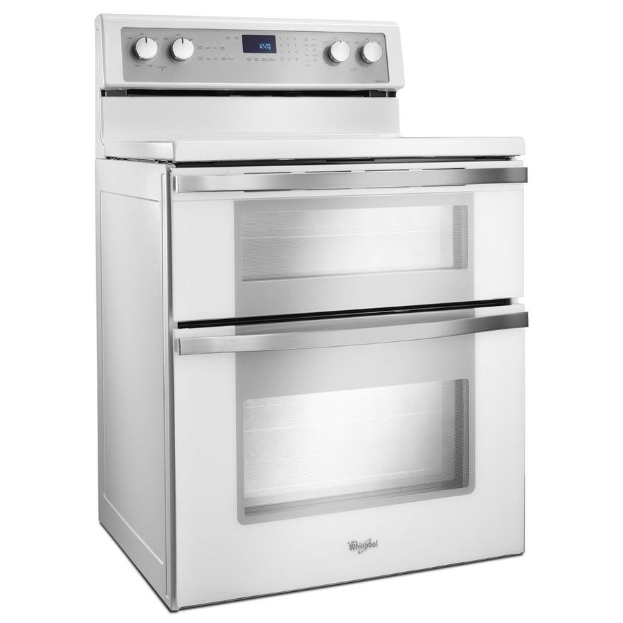 Whirlpool white ice oven - Whirlpool 30 In Smooth Surface 5 Element 4 2 Cu Ft 2 5
