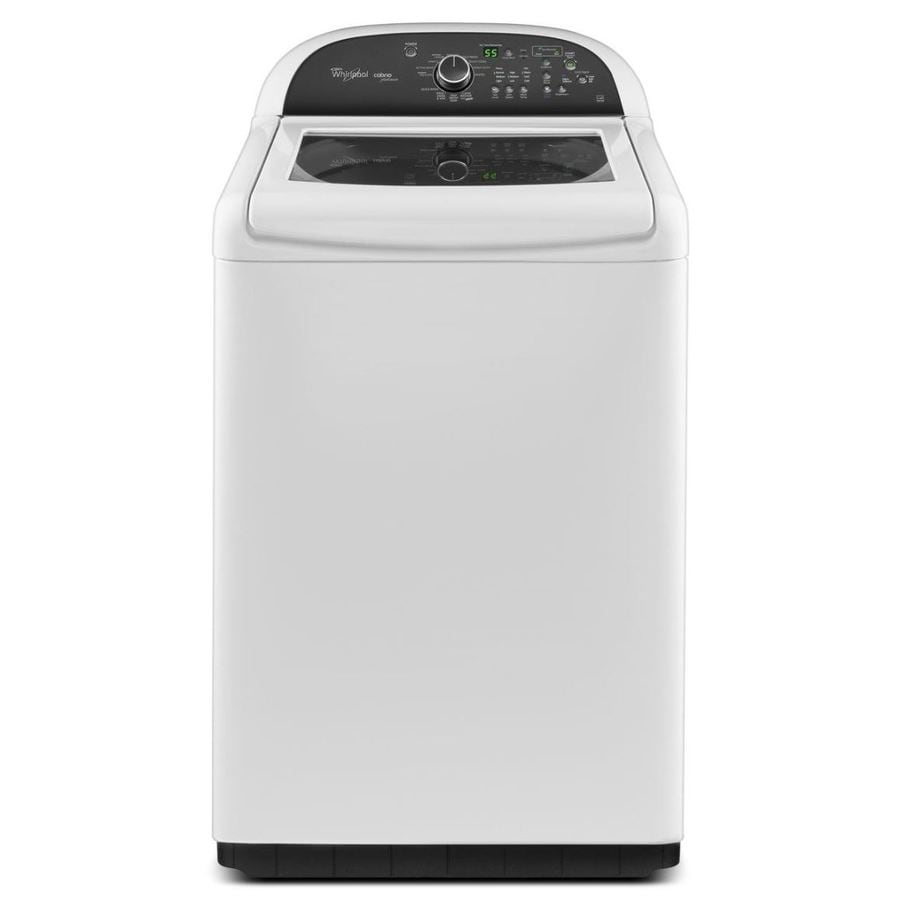 Whirlpool Cabrio 4.8-cu ft High-Efficiency Top-Load Washer (White)