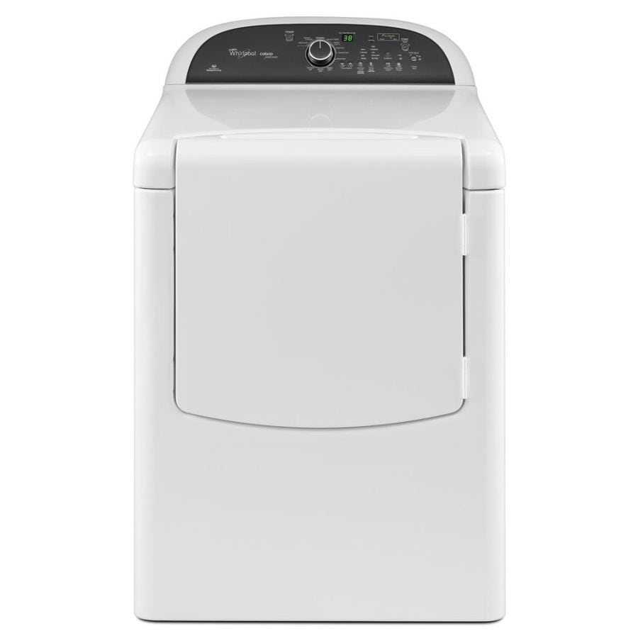 Whirlpool Cabrio 7.6-cu ft Electric Dryer (White)