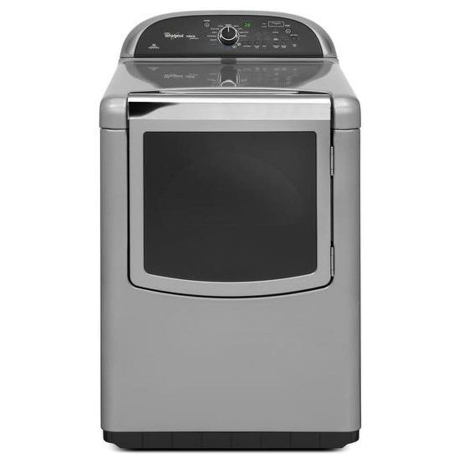 Whirlpool Cabrio 7.6-cu ft Electric Dryer (Monochromatic Stainless Steel)