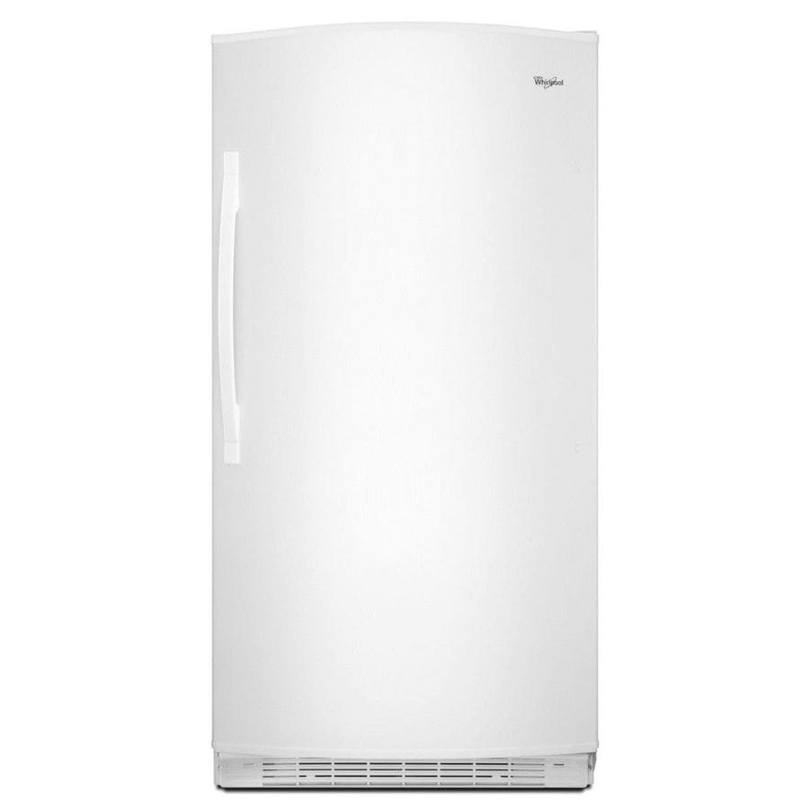 Whirlpool 20.1-cu ft Upright Freezer (White) ENERGY STAR