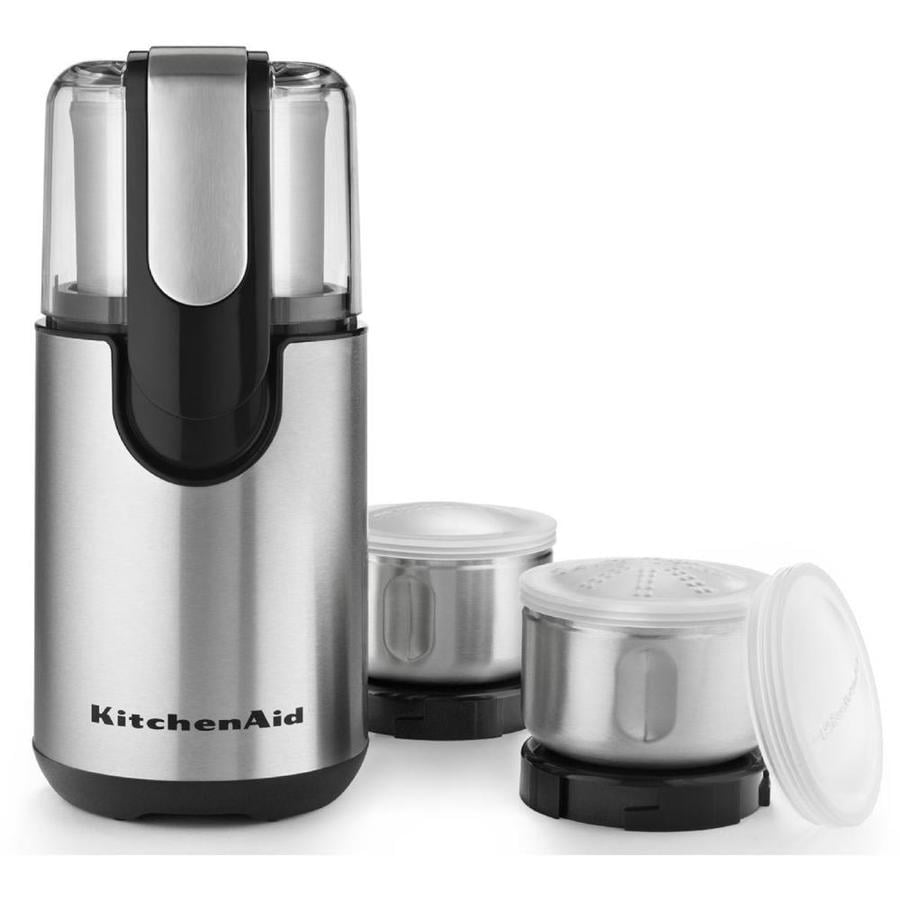 KitchenAid 4-oz Onyx Black Coffee and Spice Grinder