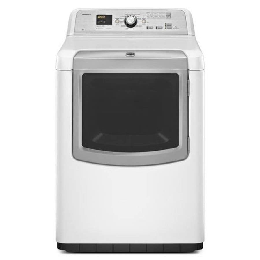 Maytag Bravos XL 7.3-cu ft Electric Dryer (White)
