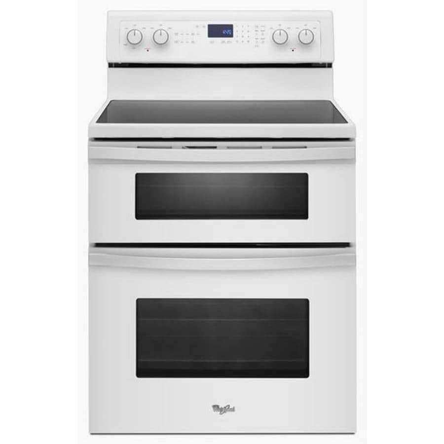 Shop Whirlpool 30 In Smooth Surface 5 Element 4 2 Cu Ft 2