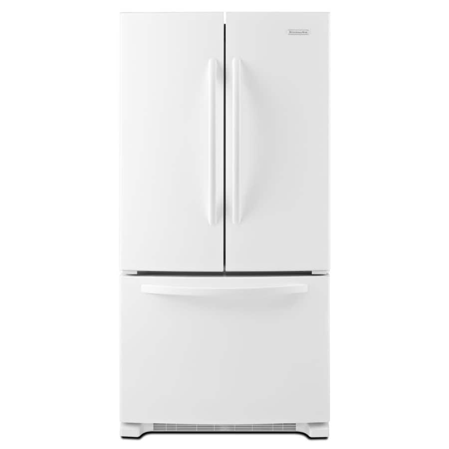 22 1 Cu Ft French Door Refrigerator: KitchenAid Architect II 22.1-cu Ft French Door