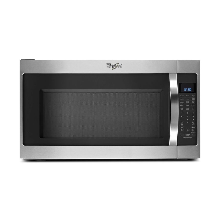 Lowes microwaves over the range white - Whirlpool 2 Cu Ft Over The Range Microwave With Sensor Cooking Controls