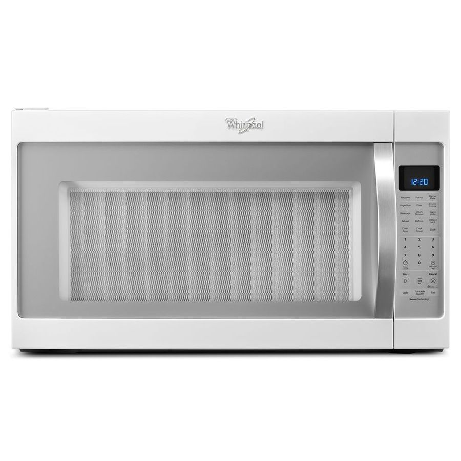 Whirlpool 2 Cu Ft Over The Range Microwave With Sensor Cooking Controls