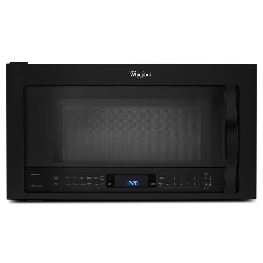 Lowes microwaves over the range with vent - Whirlpool 2 1 Cu Ft Over The Range Microwave With Sensor Cooking Controls