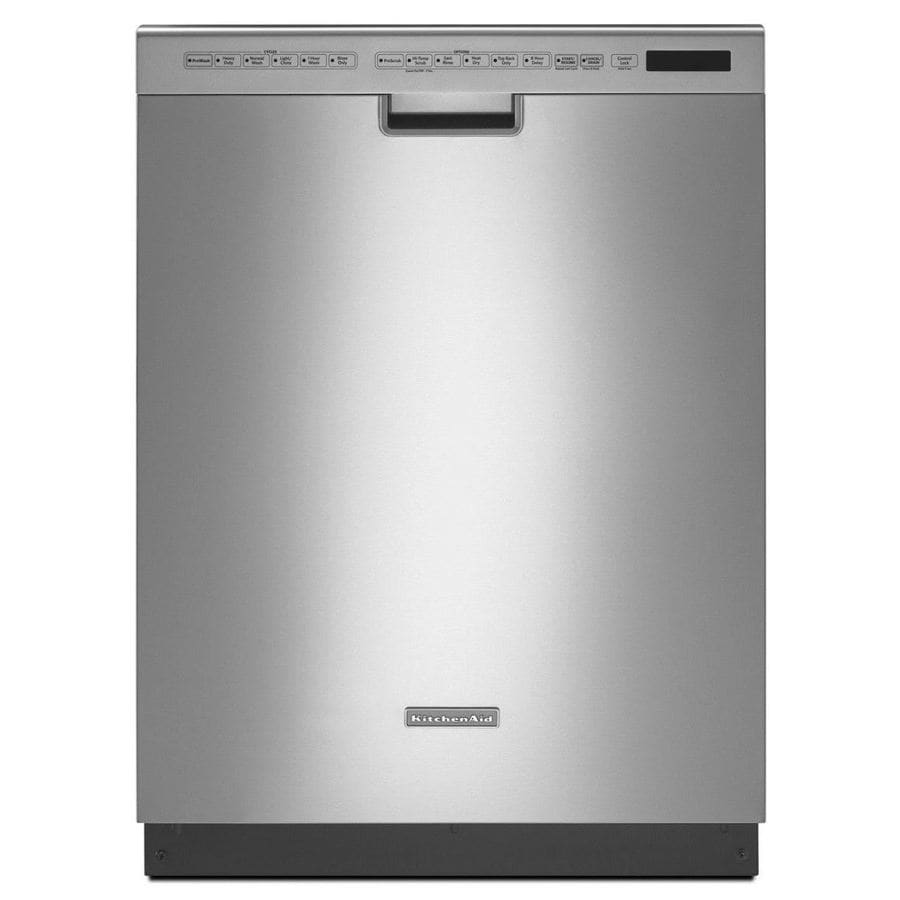 KitchenAid Architect Ii 40-Decibel Built-in Dishwasher (Stainless Steel) (Common: 24-in; Actual: 23.875-in) ENERGY STAR