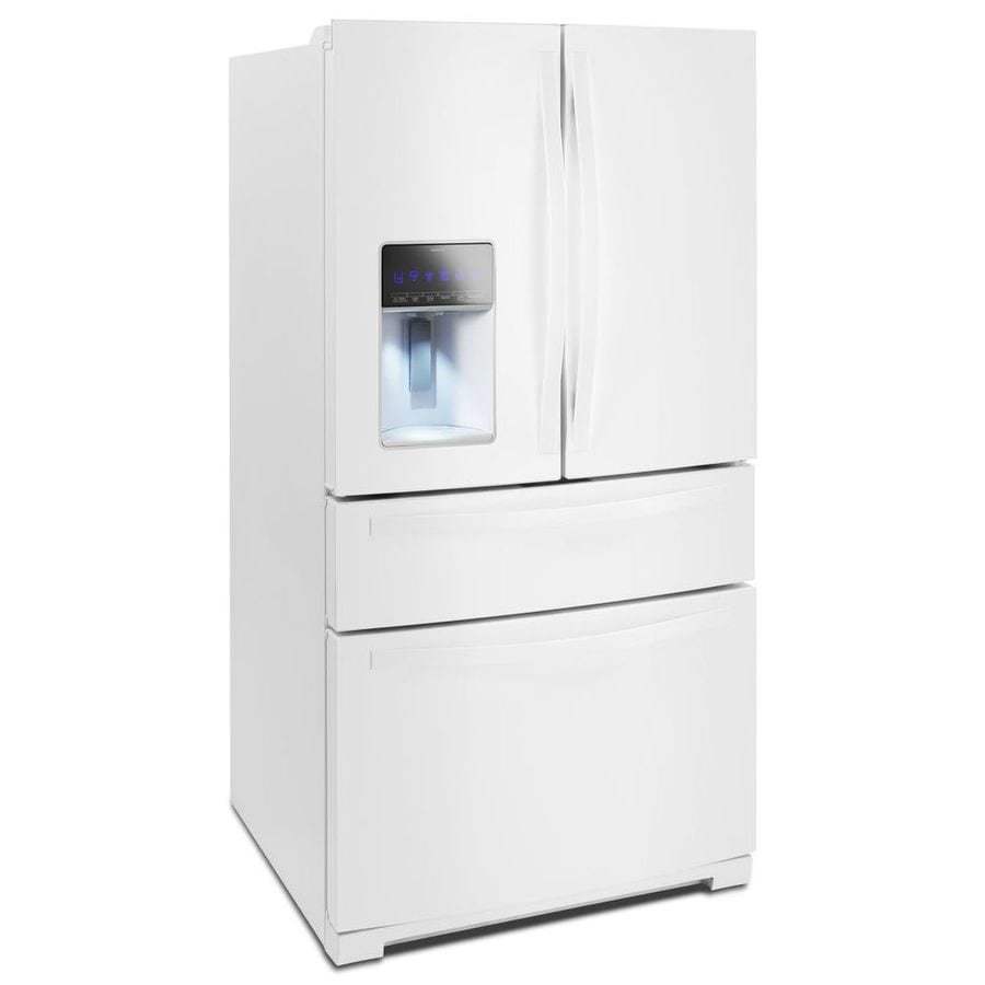 Shop Whirlpool Gold 262 Cu 4 Door French Door Refrigerator With