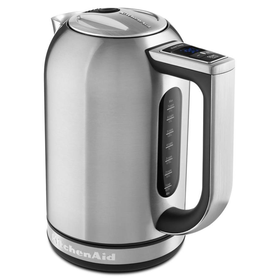 Kitchenaid Tea Kettle ~ Shop kitchenaid brushed stainless steel cup electric tea