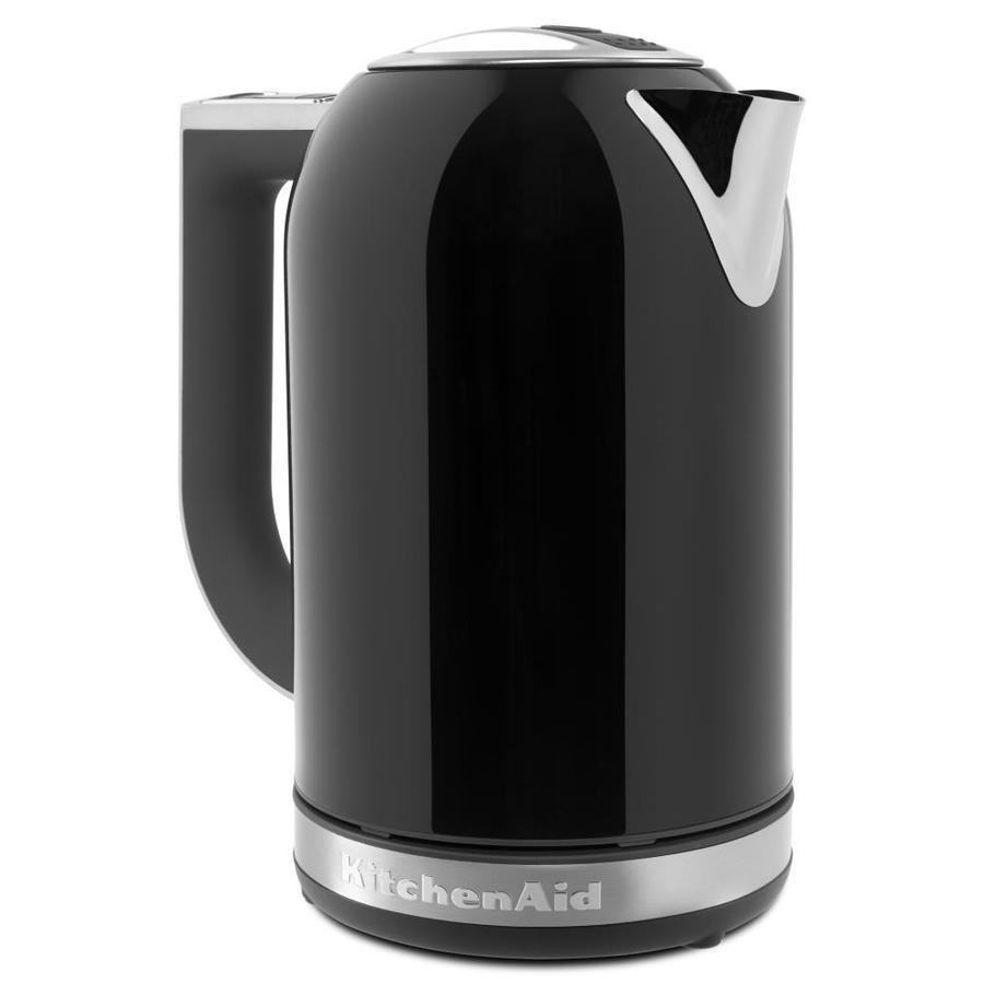 Black Kitchenaid Kettle: KitchenAid Onyx Black 7-Cup Electric Tea Kettle At Lowes.com