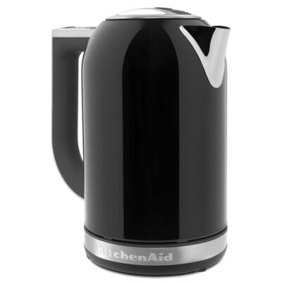 Onyx Black 7-Cup Manual Electric Kettle