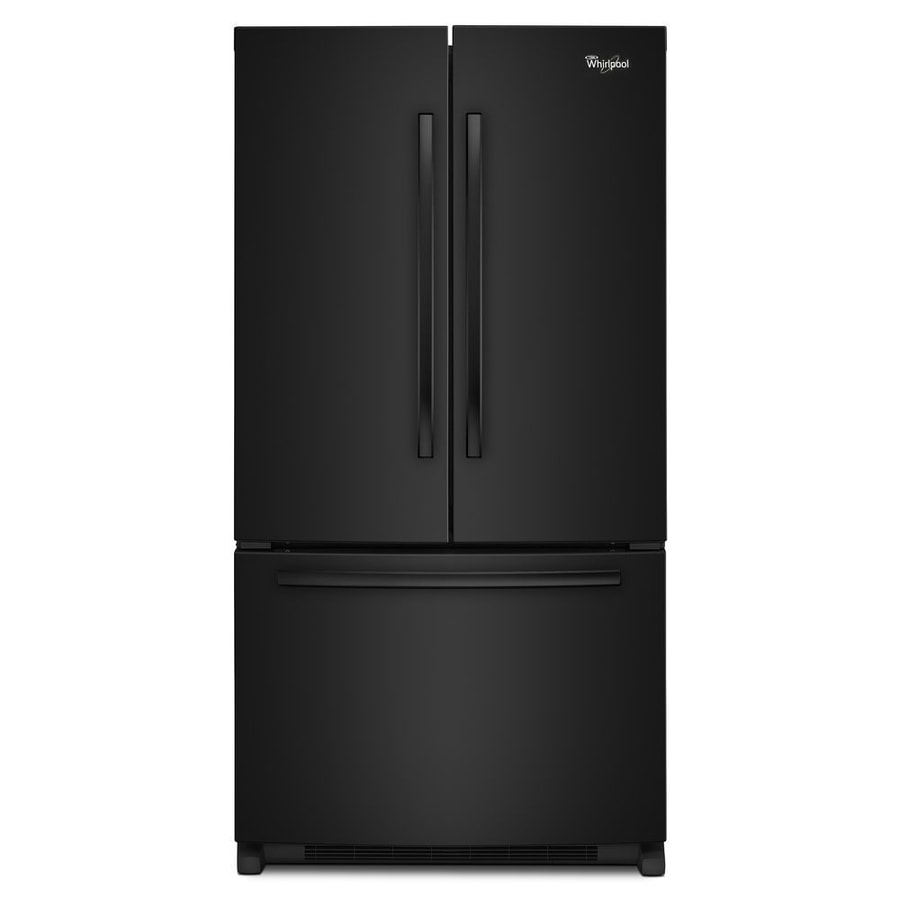 Whirlpool 20 cu ft counter depth french door refrigerator with with